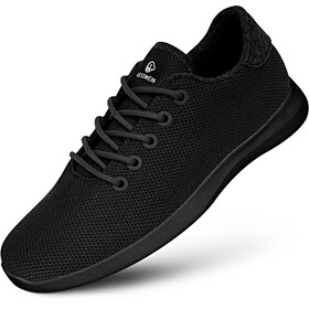 Giesswein Merino Wool Knit Runners Men black